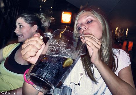 Night on the tiles: Heavy drinking can affect your memory long-term and not just the night after