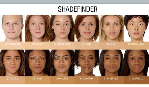Corrector Makeup Foundation Shade Finder