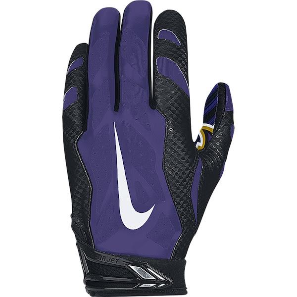 Mens Baltimore Ravens Nike NFL Vapor Jet 3.0 Authentic Gloves  NFLShop.com