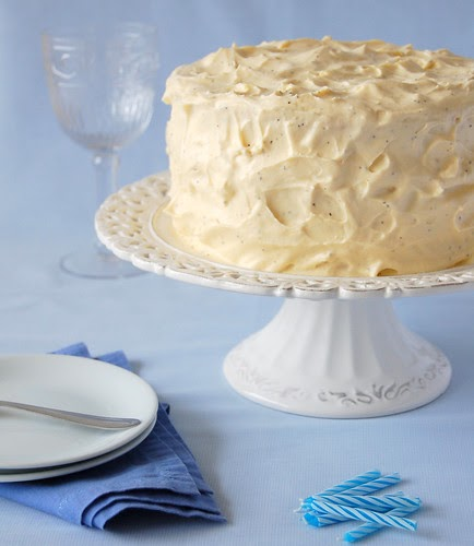 Vanilla Buttermilk Cake Recipe Sky High