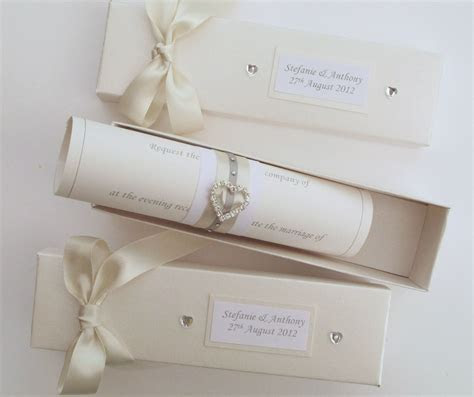 Scroll Wedding Invitations.   Wedding Invitations