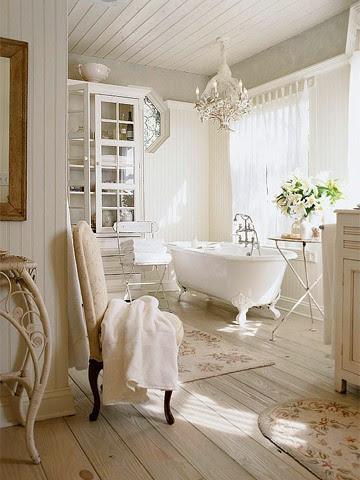 Shabby Chic Bathrooms   Panda's House