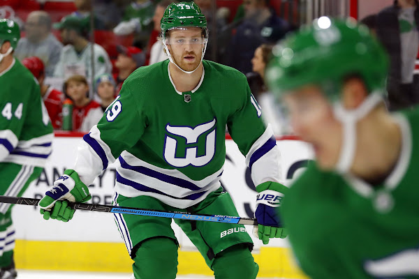 6f1f1642 Bruins broadcaster rips the Hurricanes over Dougie Hamilton's Whalers jersey