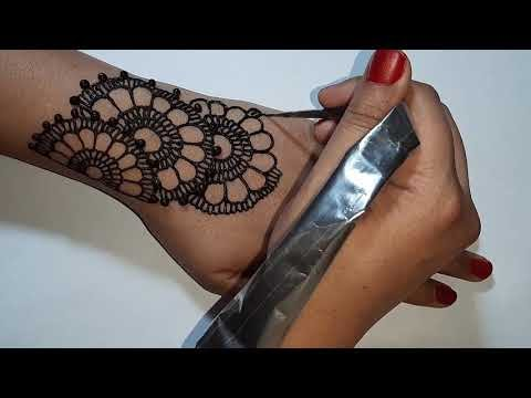 Easy Simple Mehndi Design For Eid