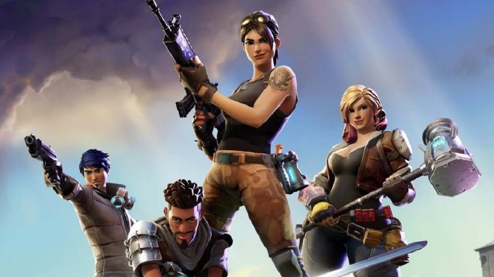 Smug heroes under siege in Fortnite trailer screenshot