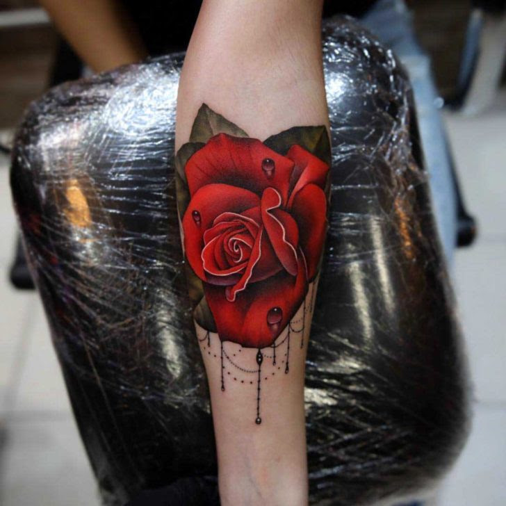 Red Rose Tattoos Best Tattoo Ideas Gallery
