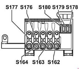 Volkswagen Golf 1999 2006 Fuse Box Diagram Auto Genius