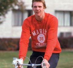 Rik on bike
