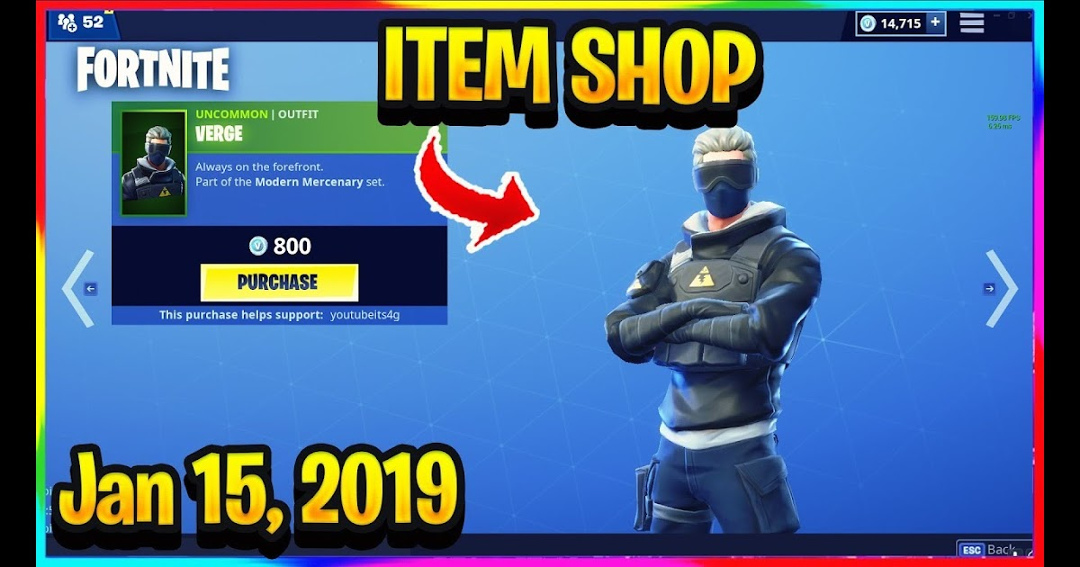 item shop fortnite january 15 2019  fortnite v bucks hack