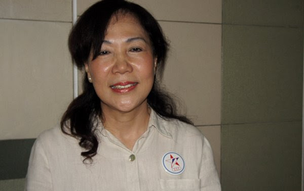 Lina Chiam has been elected as Chairman of SPP. (Yahoo! photo/ Alicia Wong)