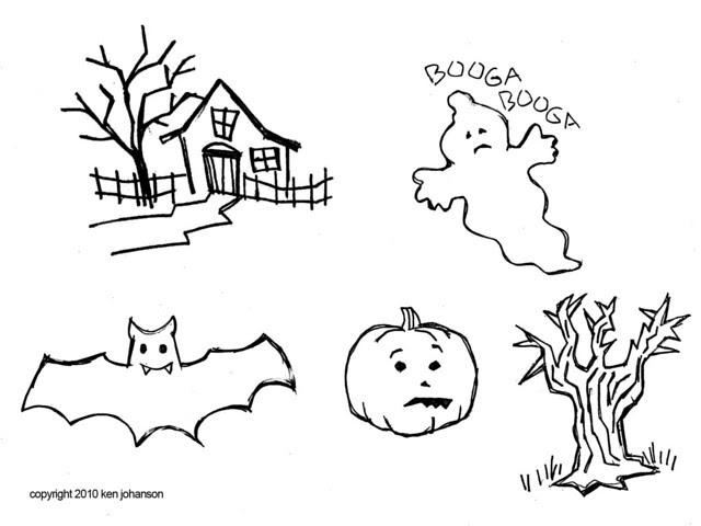 Halloween Patterns From Dad