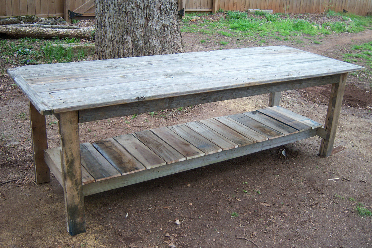 Farm Tables Made From Pallets
