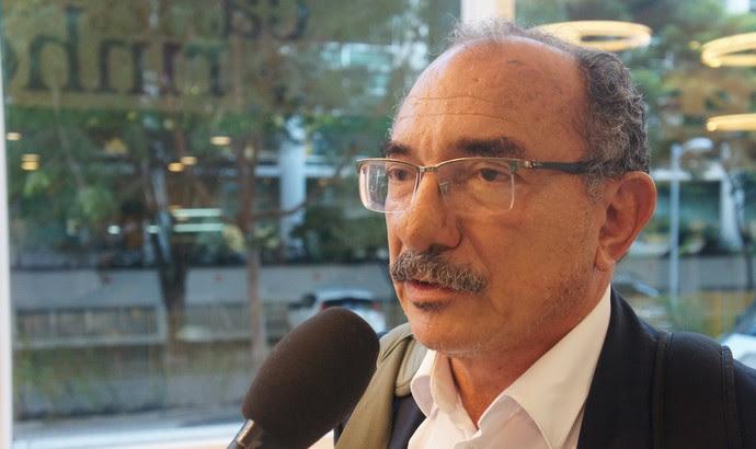 Jorge Alberto de Carvalho, presidente do Fortaleza (Foto: Daniel Mundim)