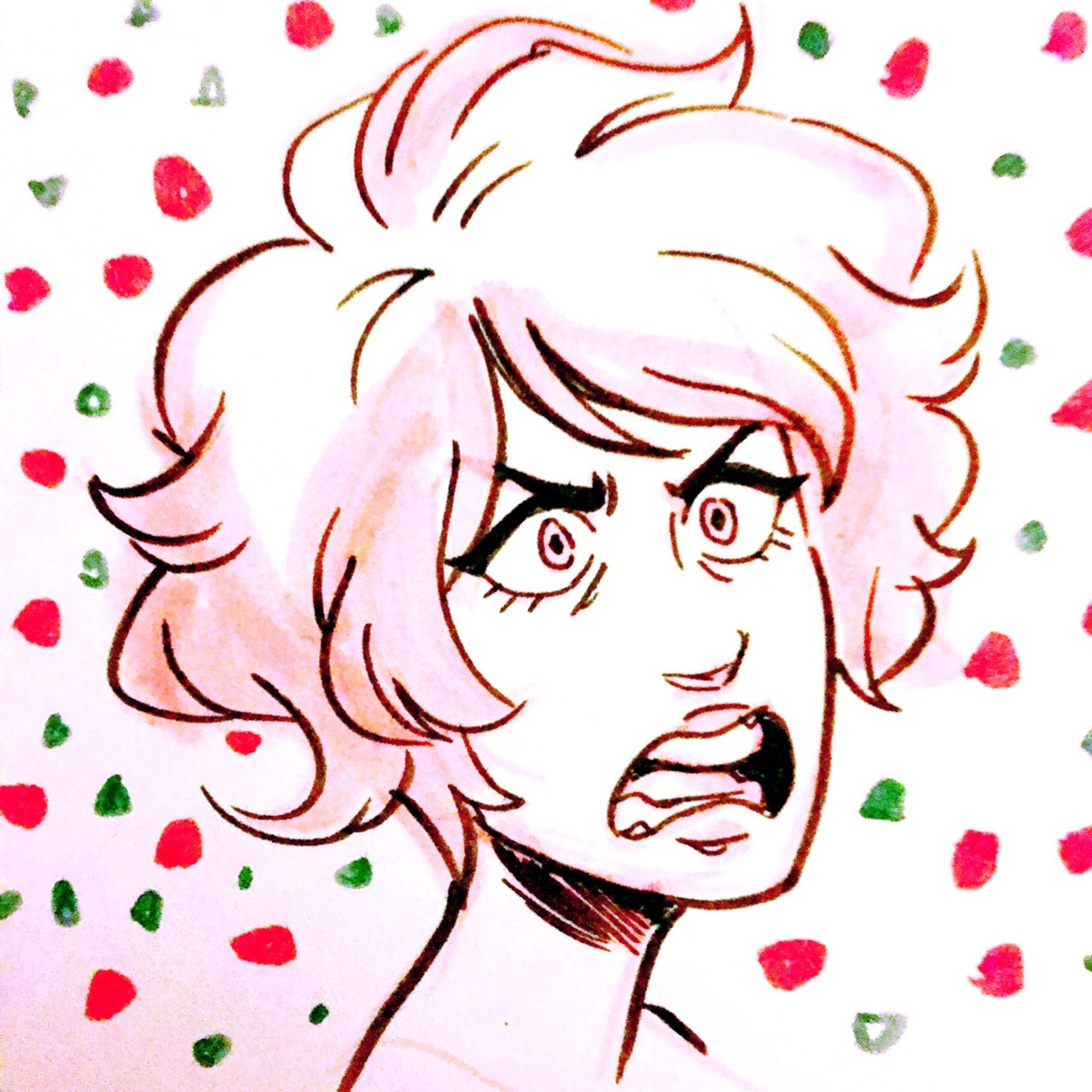 Pink diamond sketches because she's great