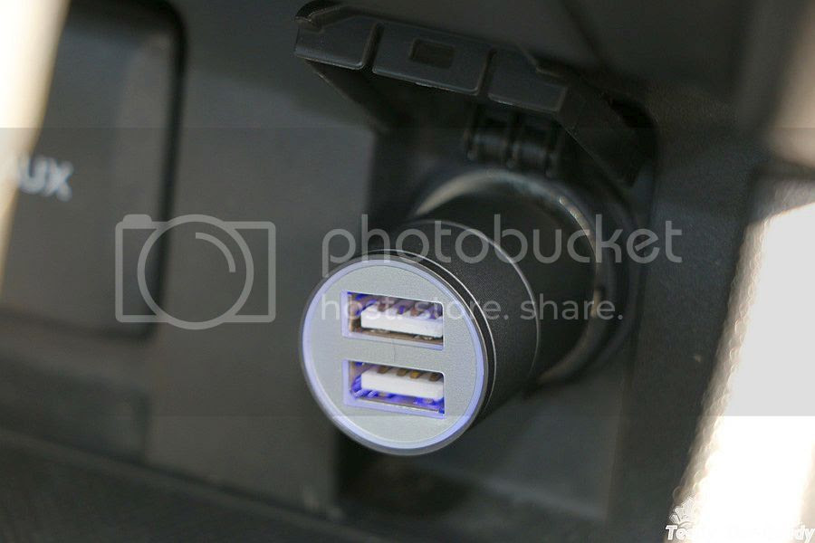 Dual USB Ports Car Charger