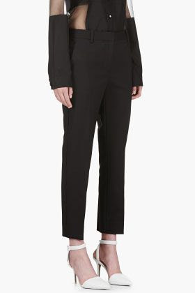 3.1 Phillip Lim Black Classic Pencil Trousers