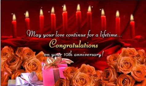 10th Anniversary Wishes For Couples ? Happy Anniversary