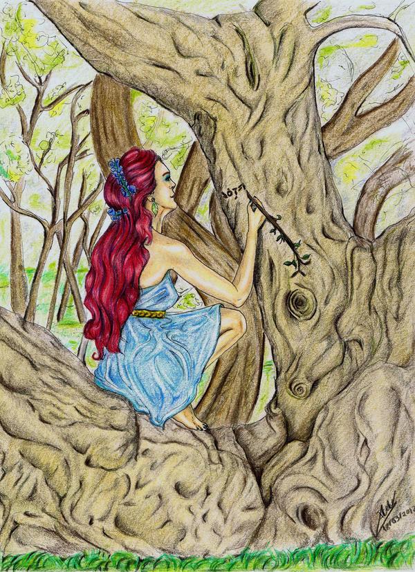 El árbol Mágico El Cuaderno De Irene