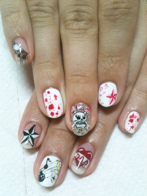 Cool Nail Art Designs For Beginners Nail Art and Tattoo Design Ideas ...