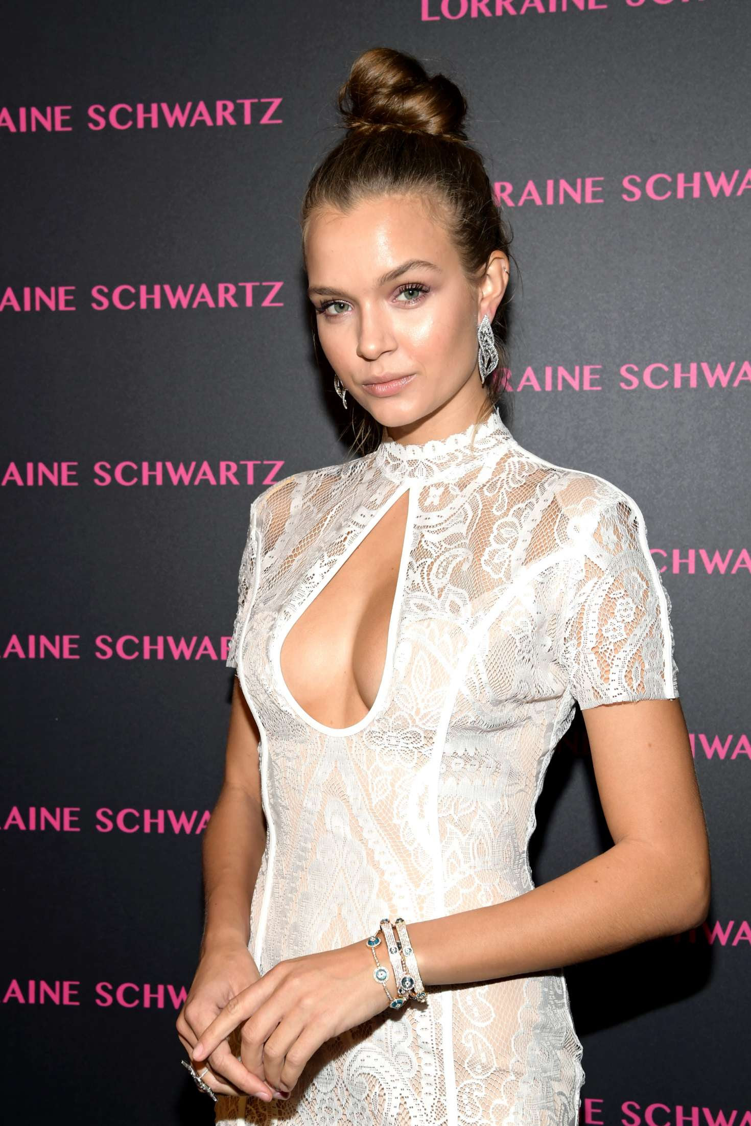 Josephine Skriver – Lorraine Schwartz Eye Bangles Collection Launch in West Hollywood