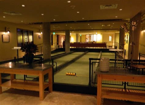 Bowling and Bocce in Georgetown: Pinstripes   THE DC MOMS