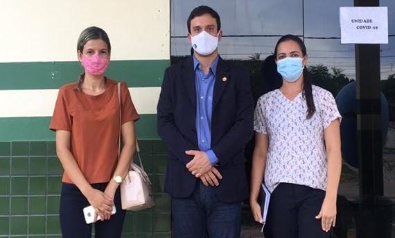 MPCE realiza visita técnica ao Hospital Municipal de Jati