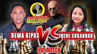 LIVE CATUR DEWA KIPAS VS GM IRENE SUKANDAR