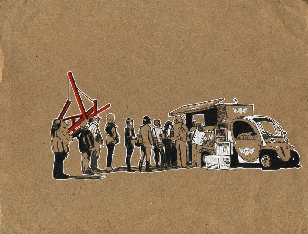 On the Fly food truck