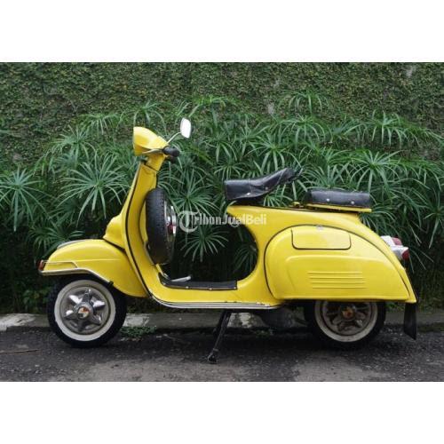 Vespa Super 150 cc Tahun 1969 Warna Kuning Surat Komplit