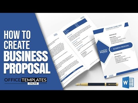 How to Create Proposal for Business in MS Word