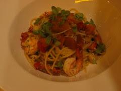 Seafood spaghettini