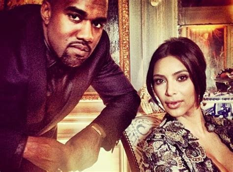 And here's the married couple.   Kanye West And Kim