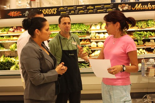 Talking to the manager of Publix in Naples