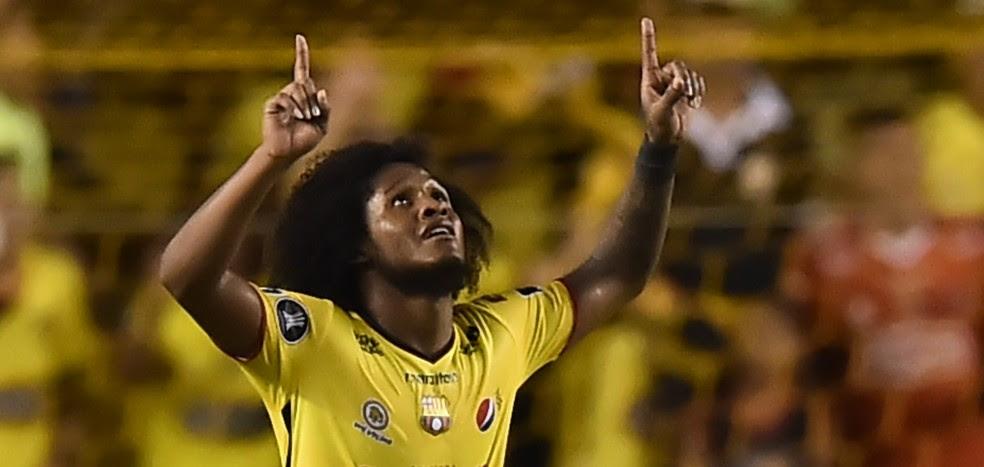 Barcelona de Guayaquil é um dos fortes candidatos a ficar com a primeira posição geral (Foto: AFP)