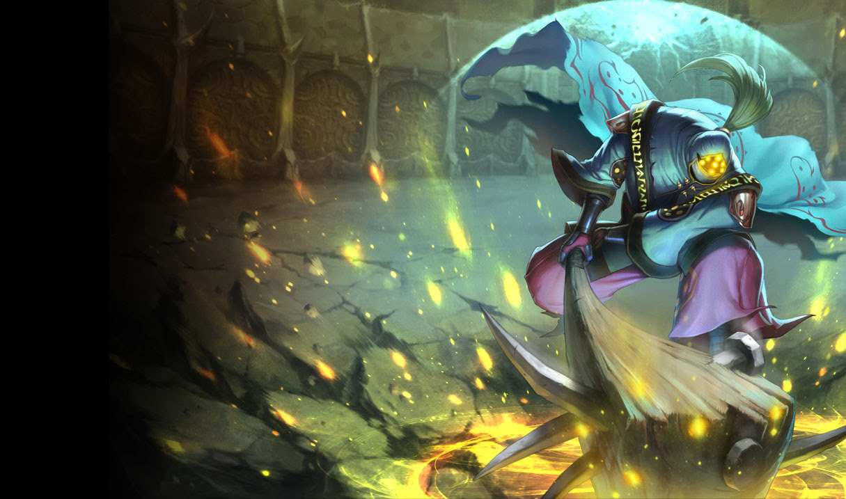 Vandal Jax Skin Chinese League Of Legends Wallpapers