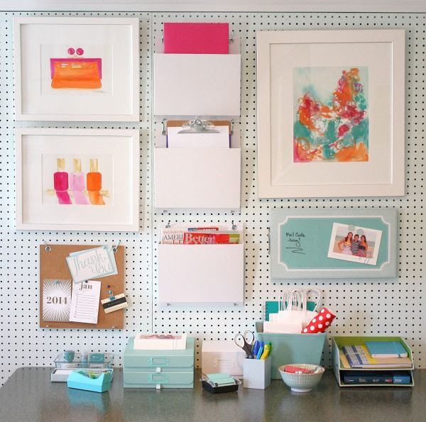 It's time to get organized for the New Year! Check out my Home Office Refresh
