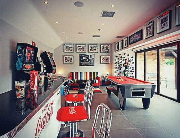75 Most Popular Home Theater Game Room Ideas
