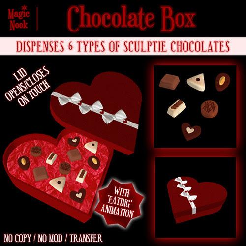 * Magic Nook * Chocolate Box