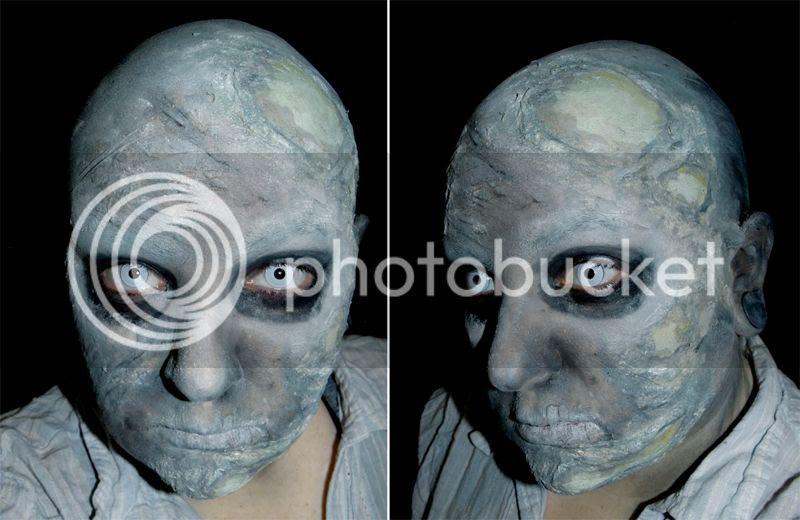 Aged zombie, monster, halloween, undead, living dead, walking dead