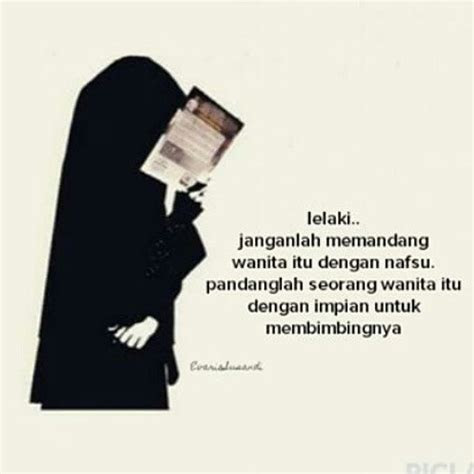 kata kata muslimah tentang lelaki kartun muslimah