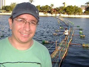 Francisco Júnior observou e disse que pretende fazer o trajeto (Foto: Karoline Zilah/G1)