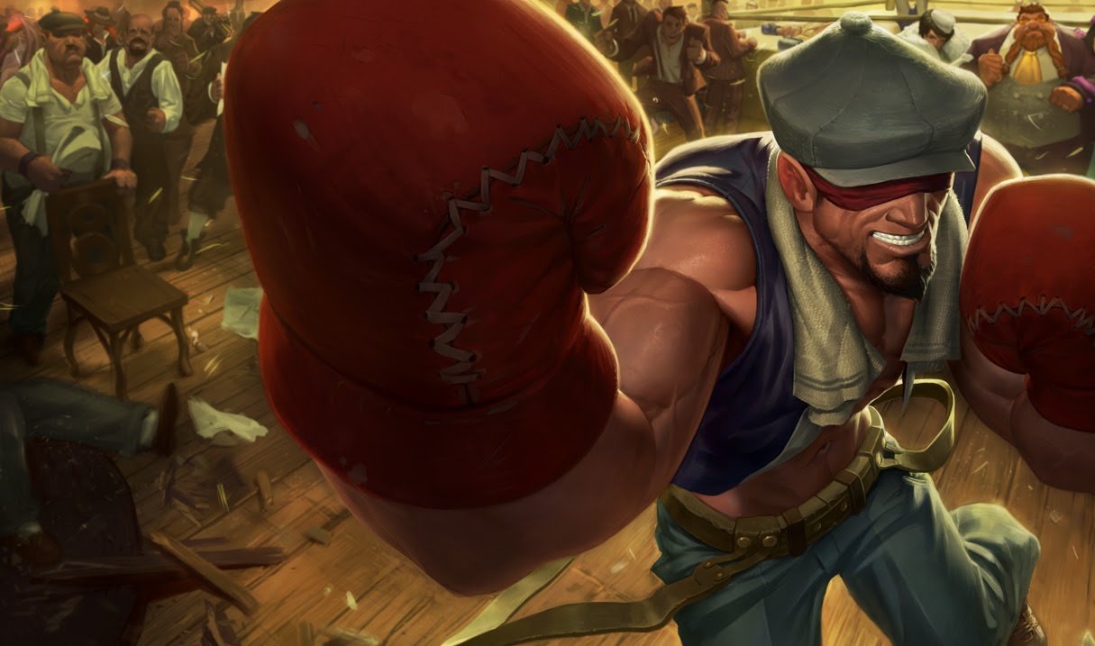 Knockout Lee Sin Skin League Of Legends Wallpapers