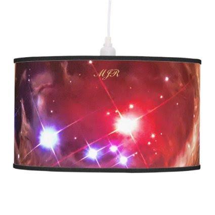 Monogram Red Supergiant Star Monocerotis Ceiling Lamps