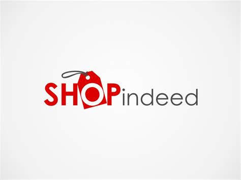 elegant playful  shopping logo design