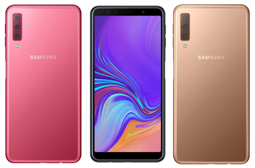 Samsung Announces Details for Big 6-inch 2018 Galaxy A7 Smartphone