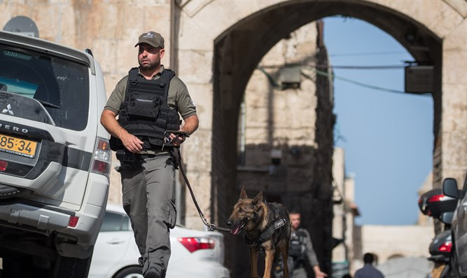 Aftermath of terrorist attack in Jerusalem's Old City