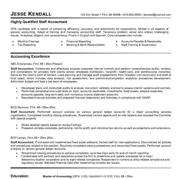 accounting resume samples 2020  resume sample