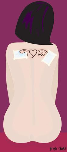 illustration friday: fresh (ink)