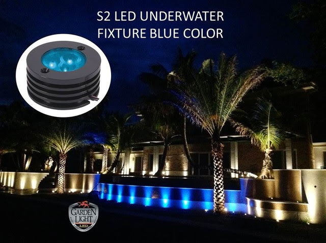 LED BLUE UNDERWATER FIXTURE  Modern  Outdoor Lighting  Tampa  by Garden Light LED