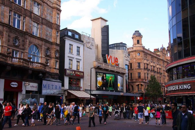 The Vue Cinema In Leicester Square Steve Daniels